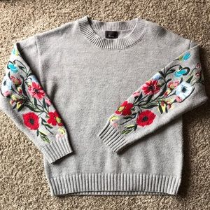 Roolee Embroidered Sweater
